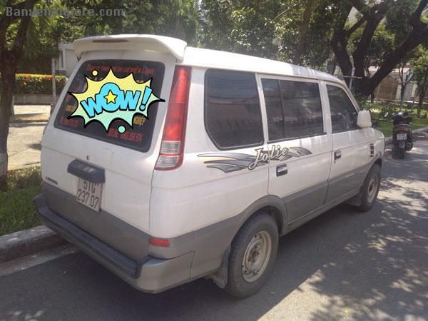 Cần bán xe Mitsubishi Jolie đời 2003, màu trắng, 8 chỗ