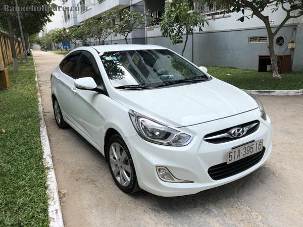Chính chủ cần bán xe Huyn Dai Accent 2012, 1.4 AT Bản Full option