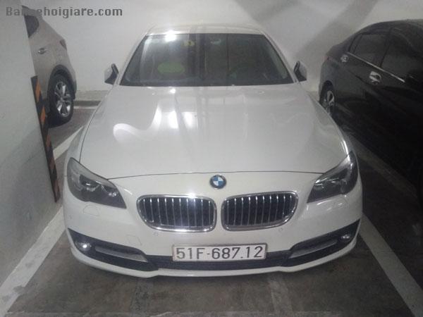 Bán xe BMW 520i, 4 chỗ, màu trắng