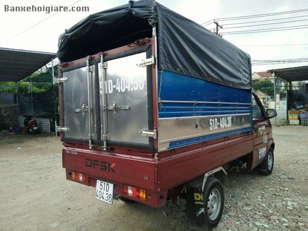 Cần bán kại xe tải thùng mui bạc còn mới 90%,