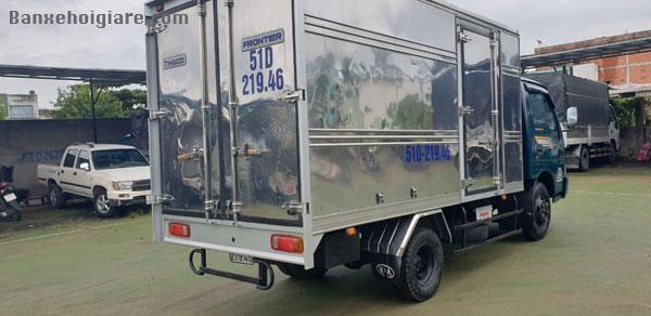Bán Kia K165 sx 8/ 2017, thùng inox có máy lạnh