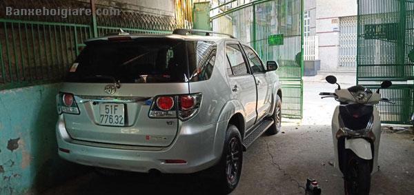 Bán xe Toyota Fortuner 8/2016 máy dầu