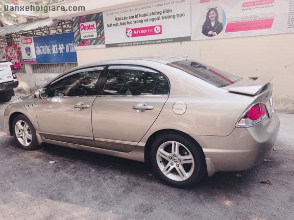 cần bán lại xe Honda Civic màu vàng cát đời 2009