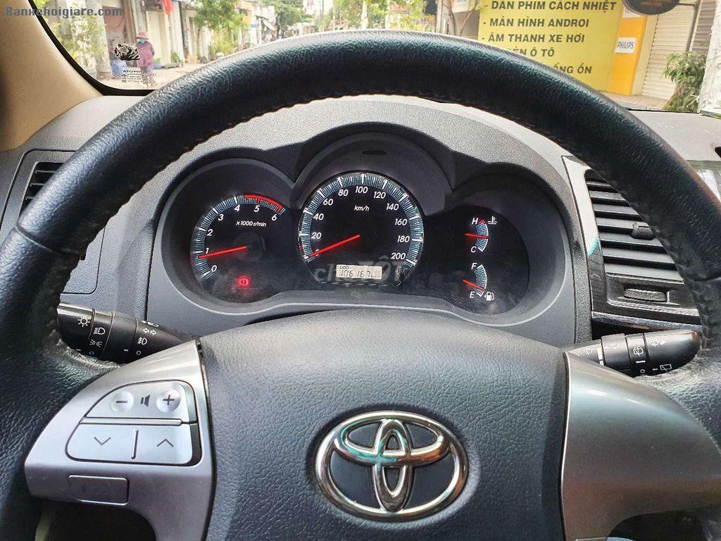 Bán Toyota Fortuner 2016 Số sàn