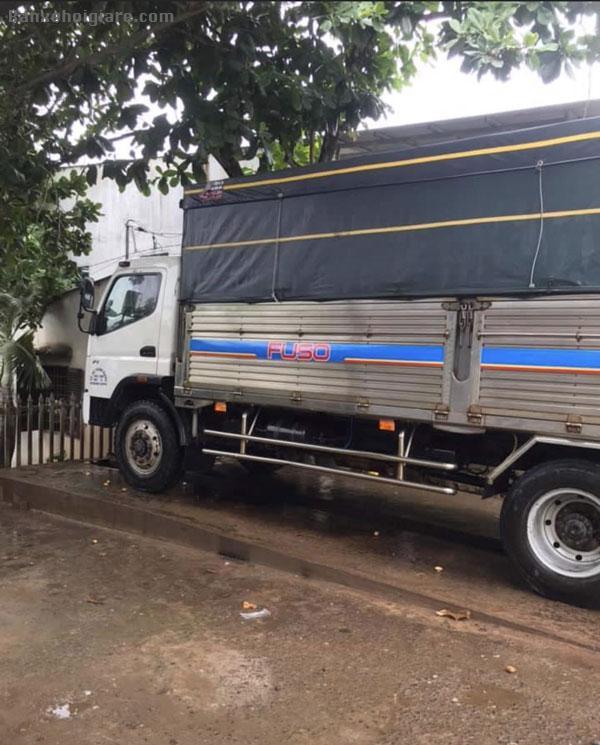 Bán xe tải mitshubishi Fuso chính chủ, kèo mui bạt,