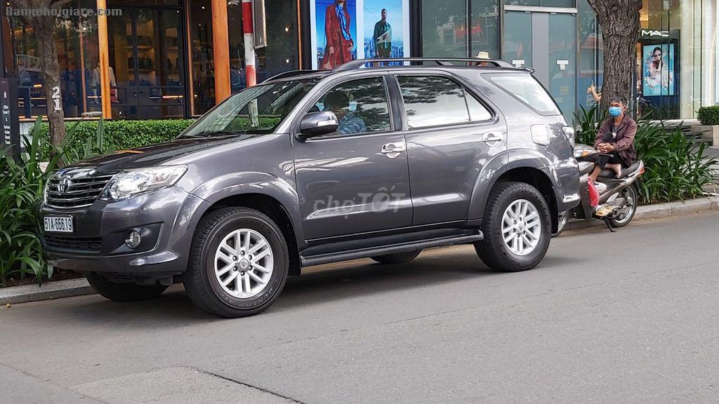 Bán Xe Toyota Fortuner 2013, máy xăng, số tự động