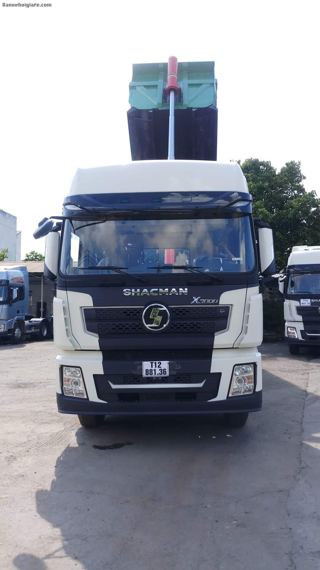 Bán xe đầu kéo Shacman X3000 thế hệ mới ,sản xuất 2020