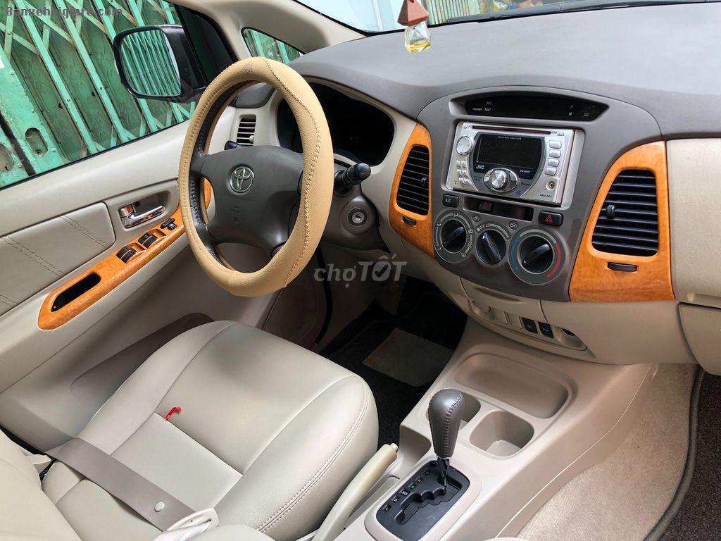 Cần bán jnnova đời 2010 số tự động xe tư nhân ủy quyền