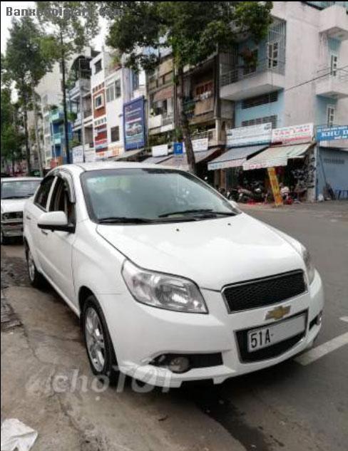 Bán Chevrolet Aveo 2014 số tự động - trắng