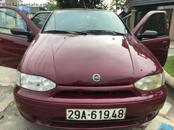Bán xe cũ Fiat Siena MT năm sản xuất 2001, màu đỏ