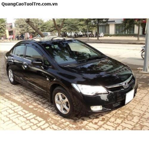 Bán xe Honda Civic 2.0 đời 2008 màu đen, 2.0 số tự động