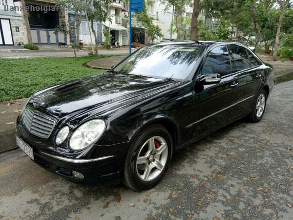 Bán xe Mercedes E200 1.8 Kompressor, đời 2004