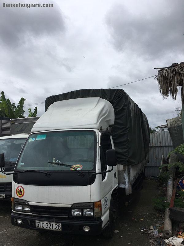 Bán Xe tải isuzu 1.5 thùng dài 6.2 mét