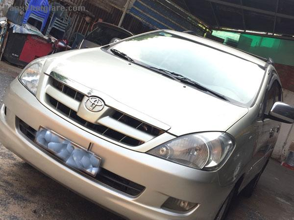 Cần bán hơi Toyota  INNOVA G đời 2008, số sàn