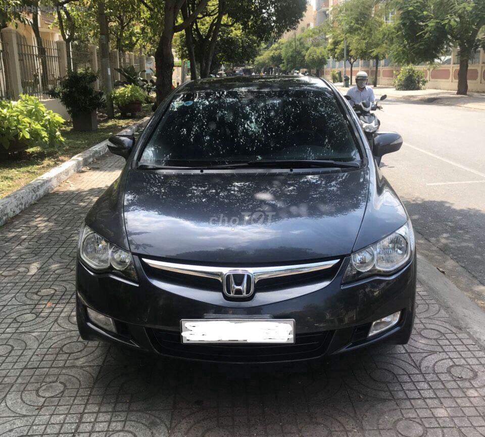 Cần bán Honda Civic đời 2007, bản 2.0 số tự động