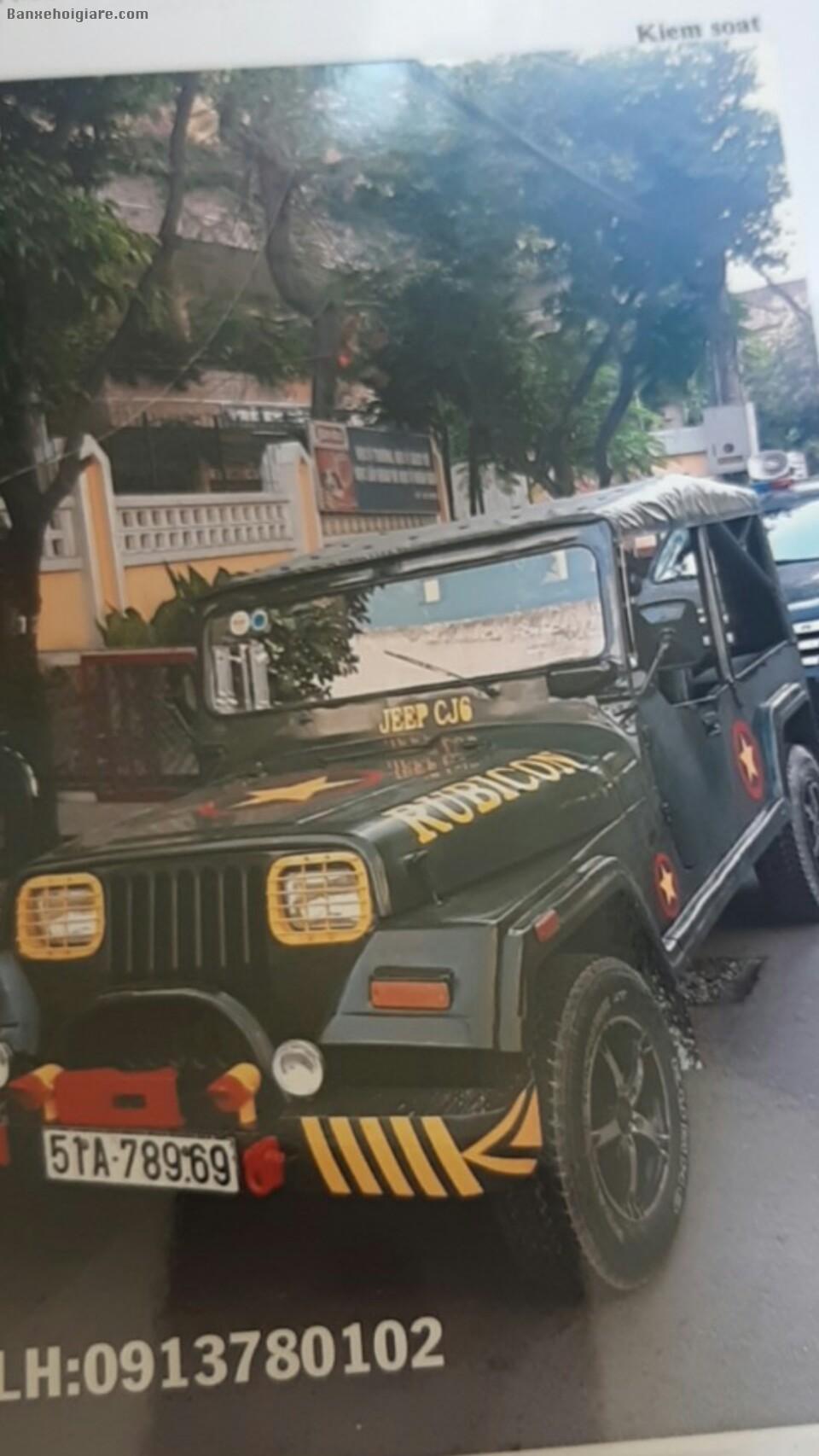Cần bán xe Jeep Mỹ, màu xanh quân đội