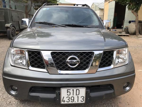 Cần bán xe Nissan NAVARA sx 2012 may dau 2 cầu điện.