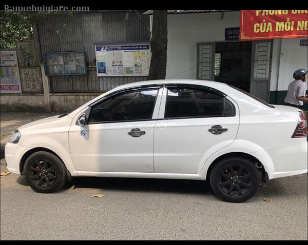 Chevrolet Aveo trắng, đăng ký 2013, odo 70.000km
