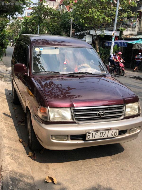 Chính chủ cần bán lại xe Toyota Zace đỏ đô 2002