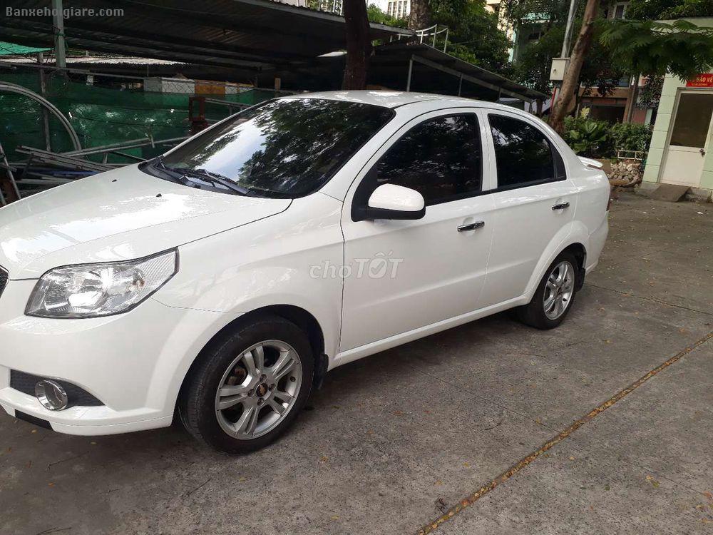 Dán xe chervrolet AVeo LTZ 1.5, màu trắng, số tự động, đăng ký 11/2016