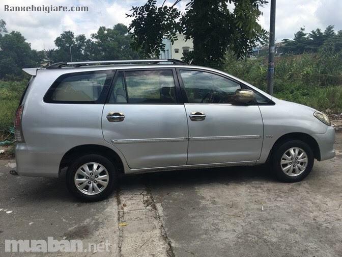 Gia đình cần bán gấp xe Toyota Innova G, cuối 2009