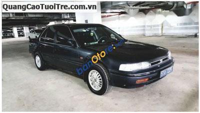Bán xe Honda Accord đời 1989, màu đen, nhập khẩu